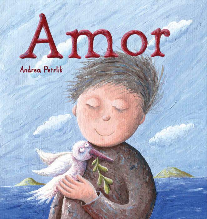 """Portada del libro """"Amor"""", de Andrea Petrlik. Encuéntralo en Leetra."""