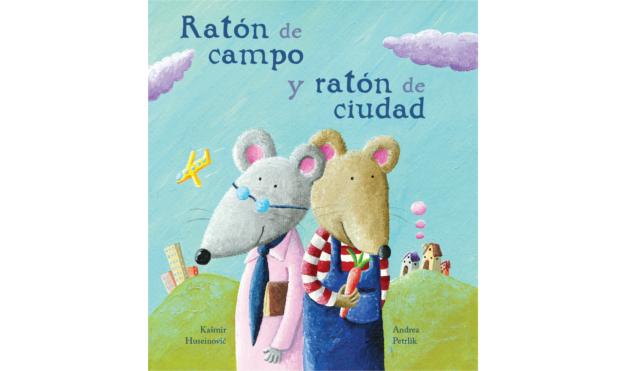 Portada libro Raton de Campo y Raton de Ciudad