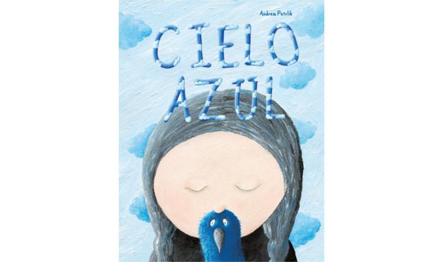 portada libro Cielo Azul