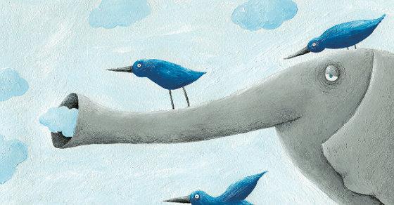 share ilustracion libro cielo azul