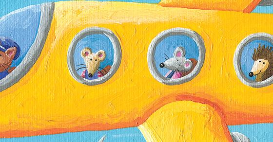 share resena libro Raton de Campo y Raton de Ciudad