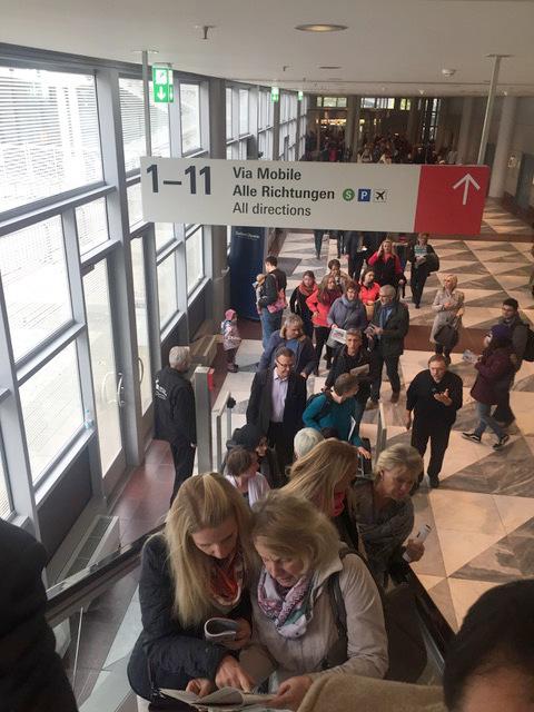 editorial leetra en la Feria Internacional del libro de Frankfurt